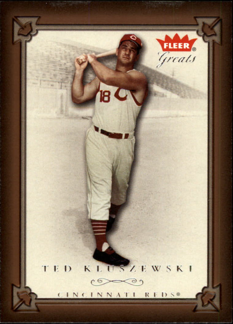 2004 Greats of the Game #69 Ted Kluszewski