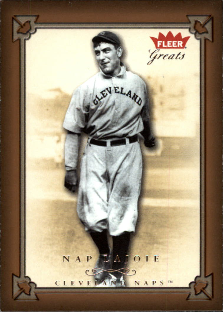 2004 Greats of the Game #92 Nap Lajoie