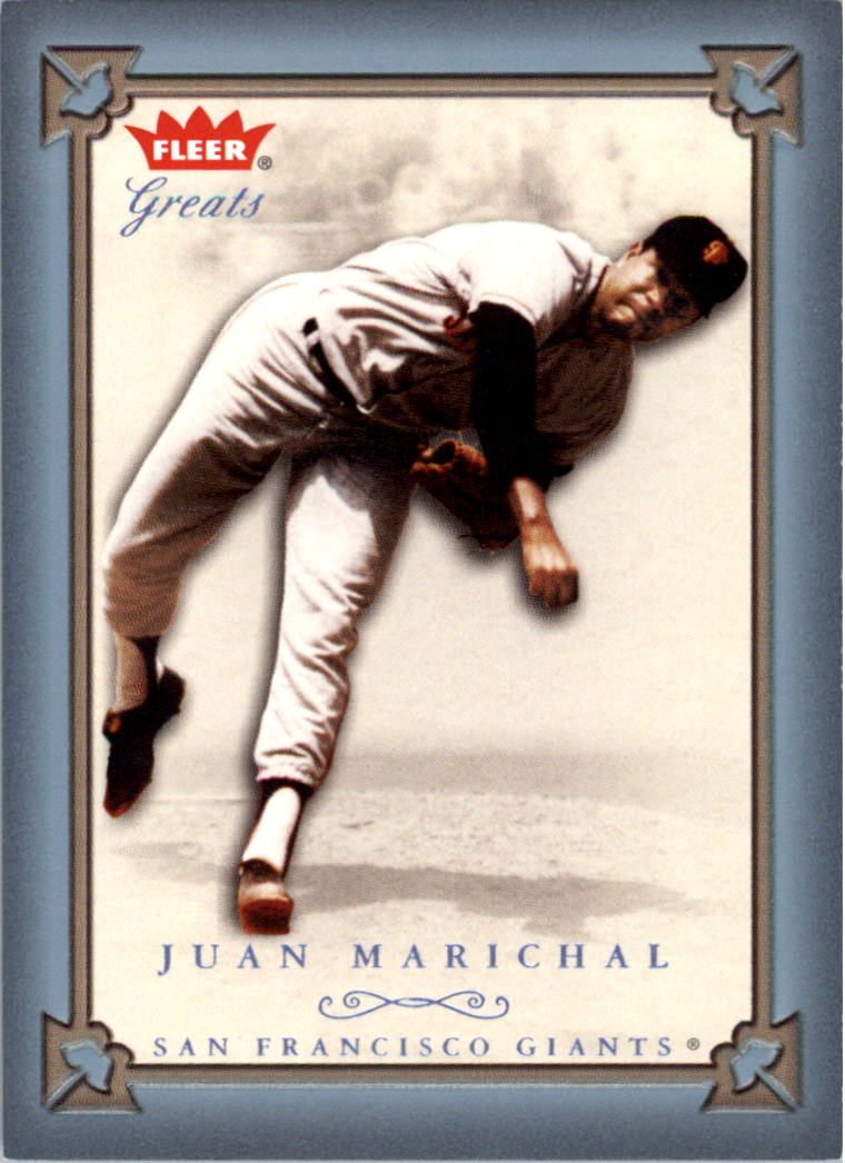 2004 Greats of the Game Blue #47 Juan Marichal