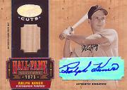 2004 Leaf Certified Cuts Hall of Fame Souvenirs Signature Material #21 Ralph Kiner Bat/4