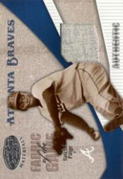 2004 Leaf Certified Materials Fabric of the Game #191 Satchel Paige CO Jsy/100