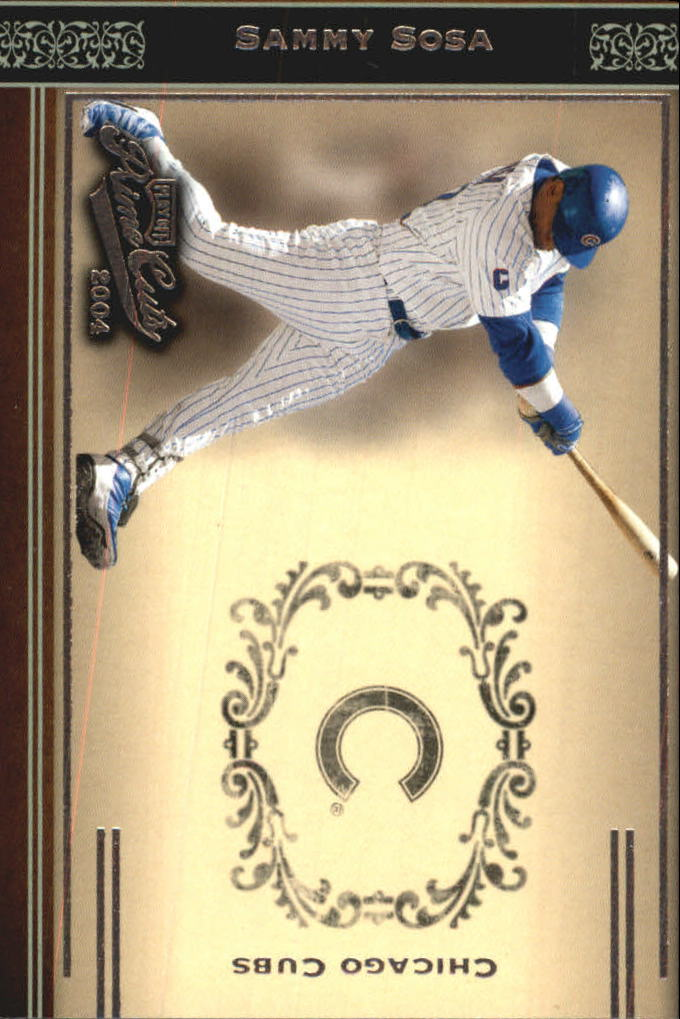 2004 Prime Cuts #4 Sammy Sosa