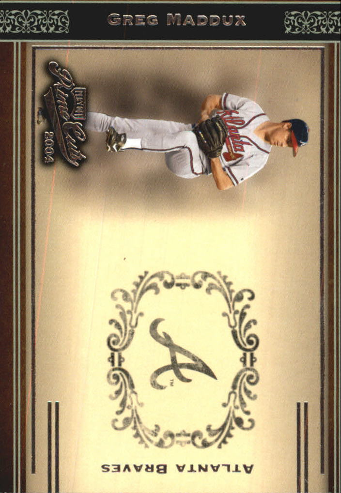 2004 Prime Cuts #5 Greg Maddux Braves
