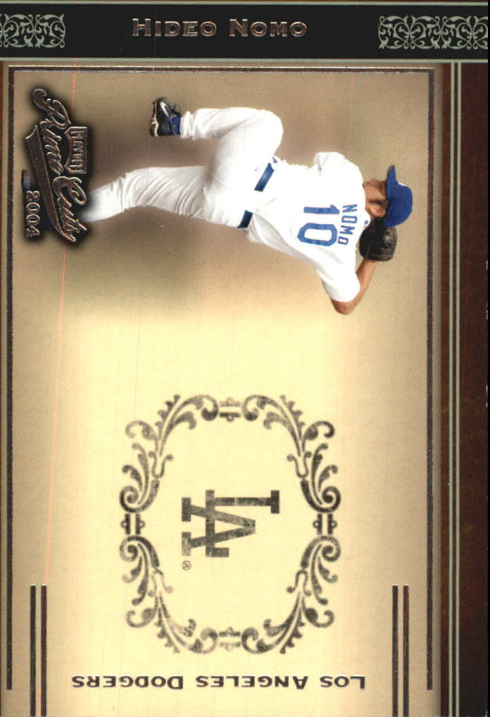2004 Prime Cuts #7 Hideo Nomo Dodgers