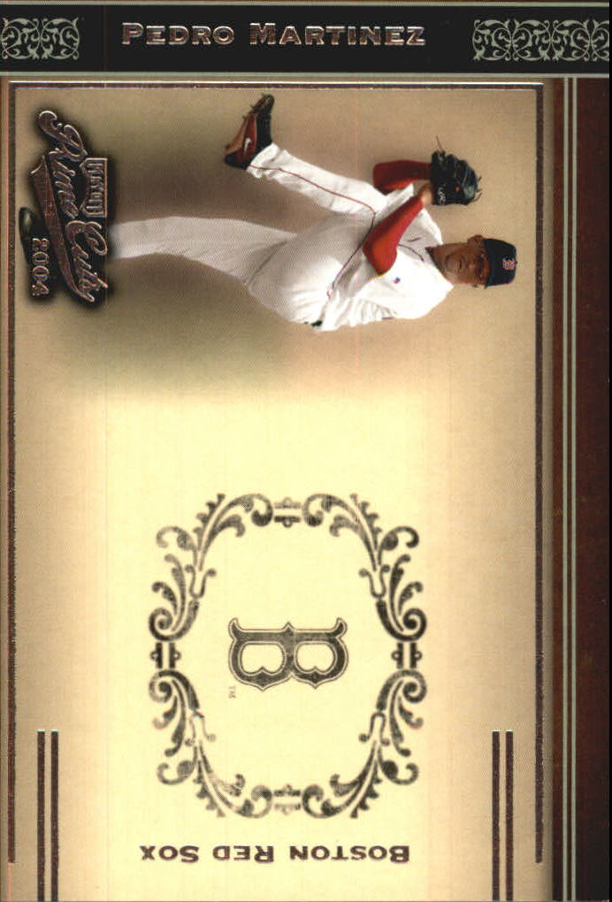 2004 Prime Cuts #25 Pedro Martinez Sox
