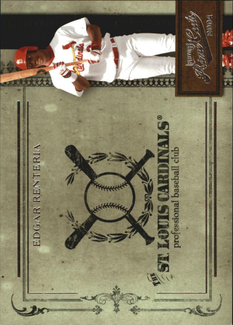 2004 Prime Cuts II #14 Edgar Renteria