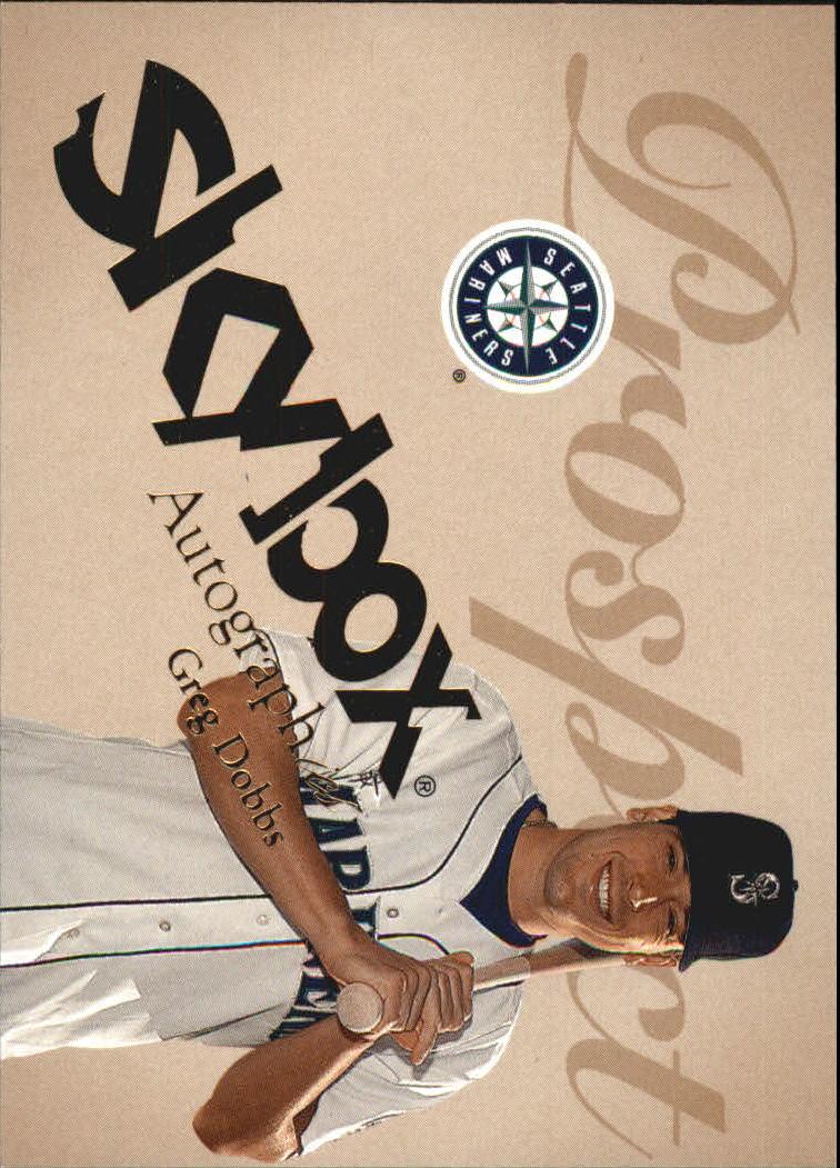 2004 SkyBox Autographics #69 Greg Dobbs PR RC