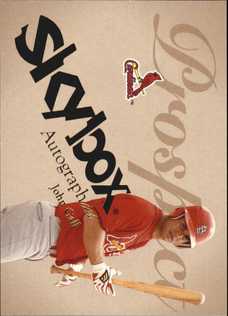 2004 SkyBox Autographics #70 John Gall PR RC
