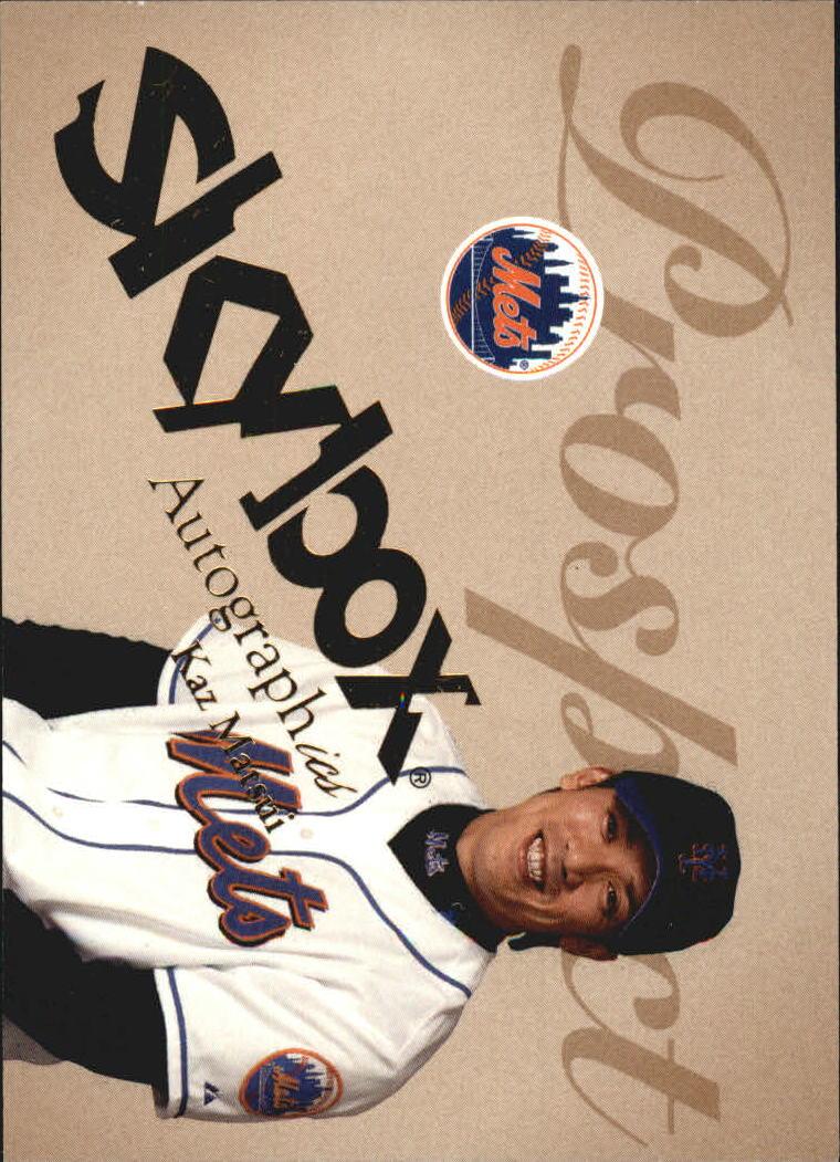 2004 SkyBox Autographics #71 Kaz Matsui PR RC