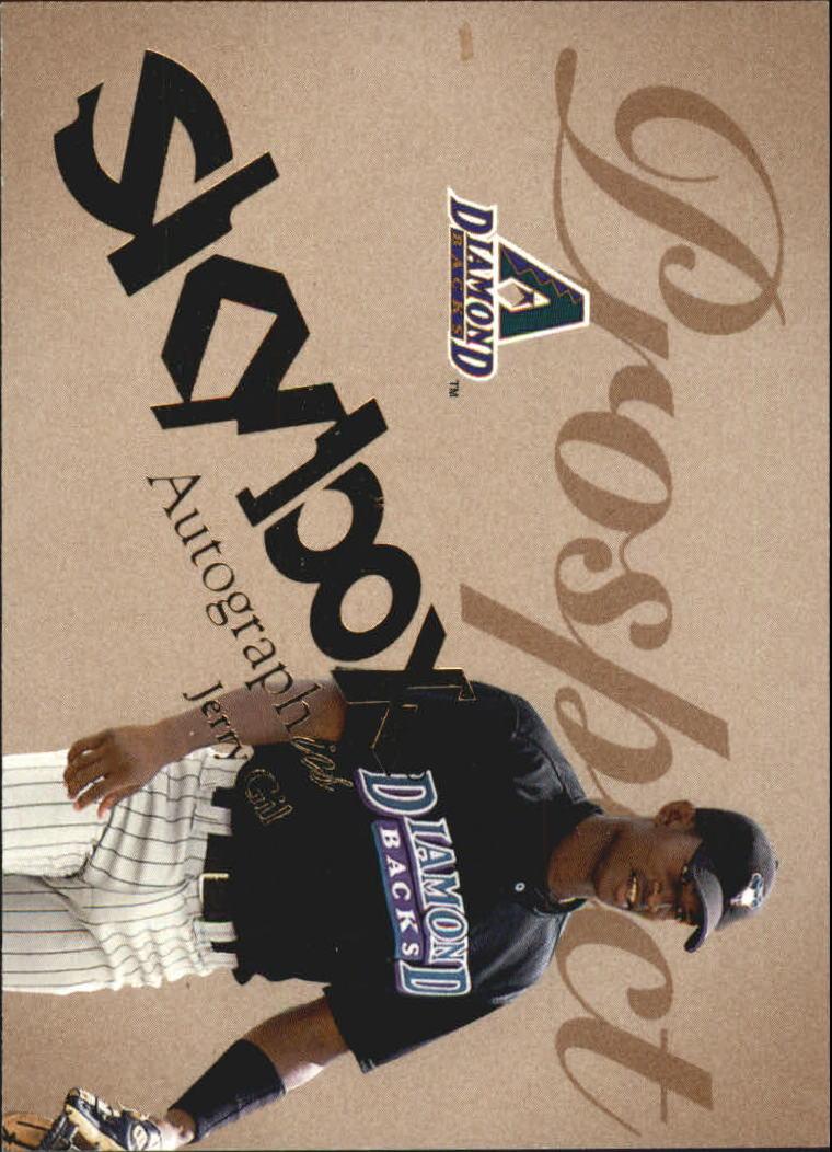 2004 SkyBox Autographics #74 Jerry Gil PR RC