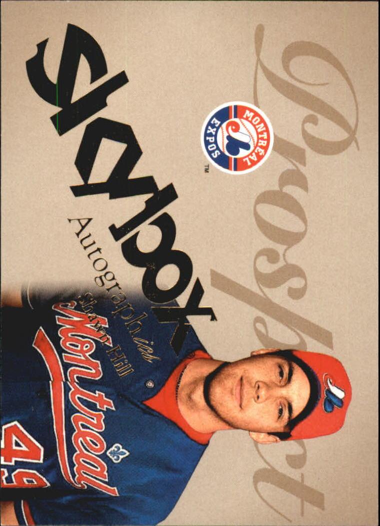 2004 SkyBox Autographics #78 Shawn Hill PR RC