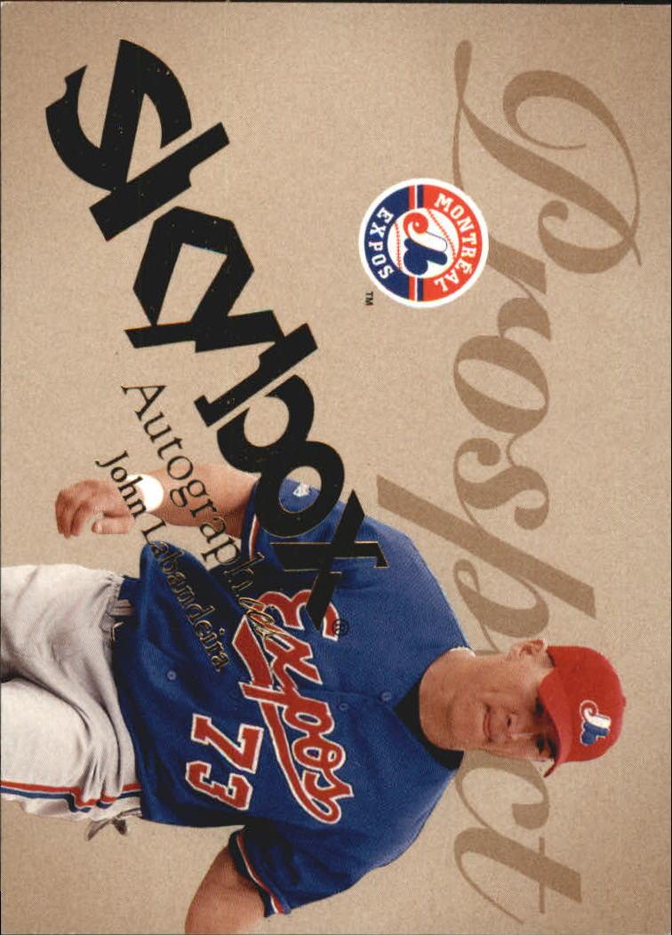 2004 SkyBox Autographics #81 John Labandeira PR RC
