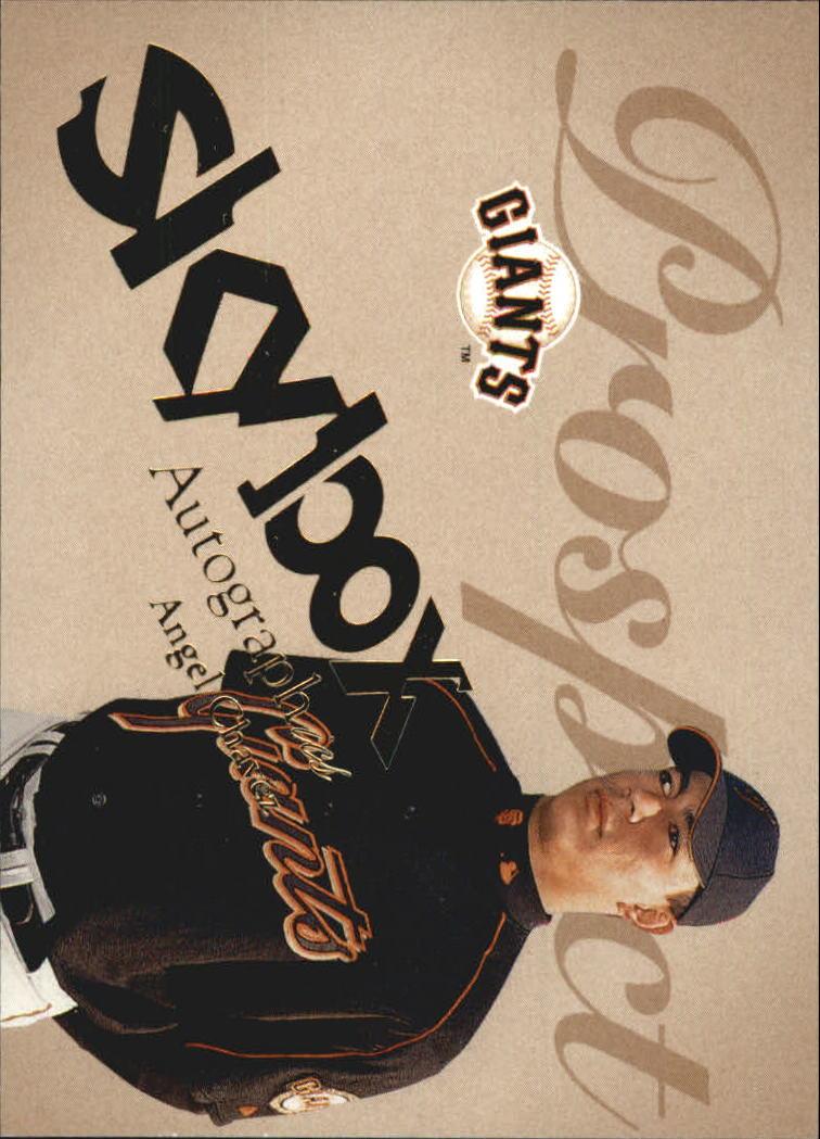 2004 SkyBox Autographics #87 Angel Chavez PR RC