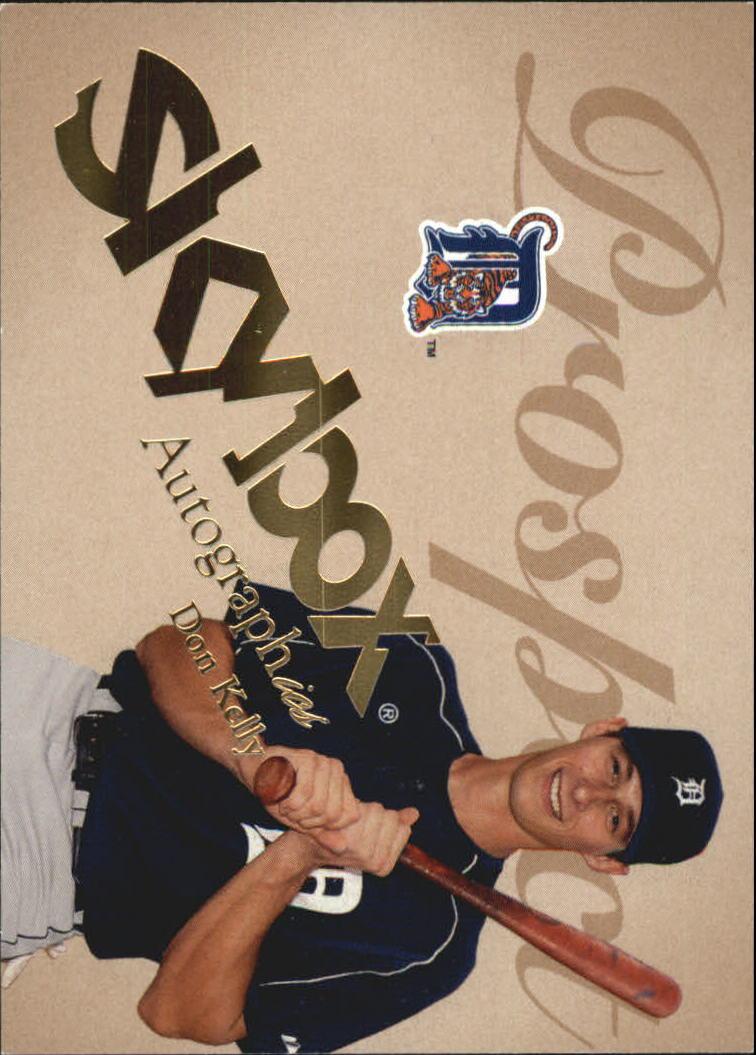 2004 SkyBox Autographics #92 Don Kelly PR RC