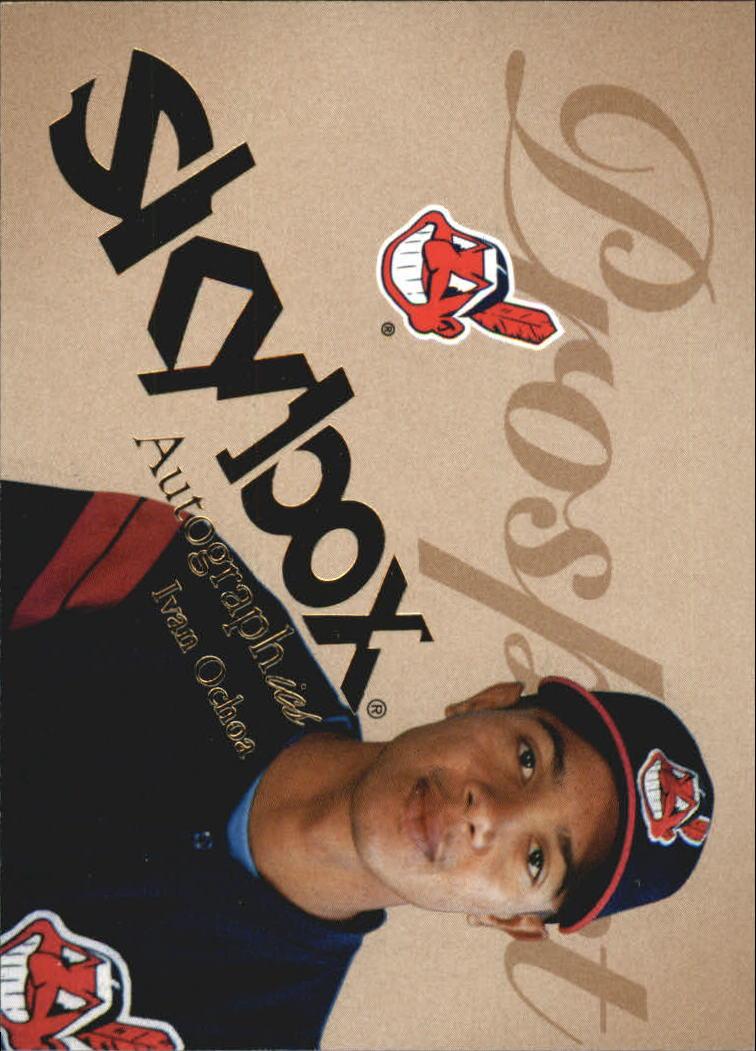 2004 SkyBox Autographics #93 Ivan Ochoa PR RC