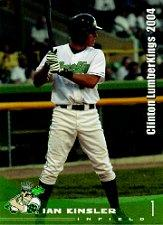 2004 Clinton LumberKings Grandstand #20 Ian Kinsler