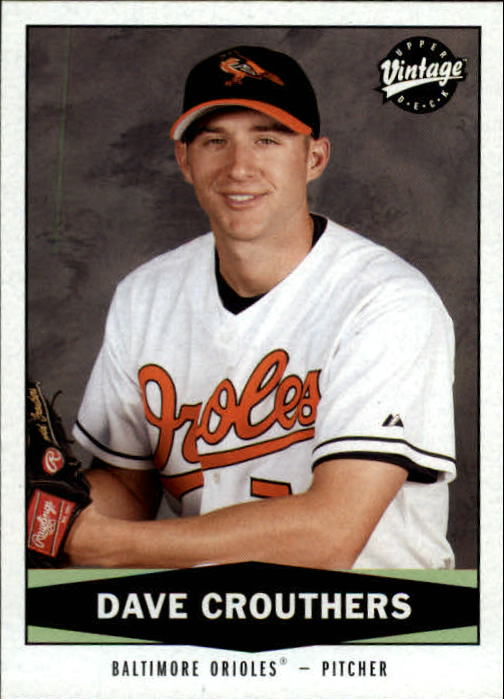 2004 Upper Deck Vintage #467 Dave Crouthers RC