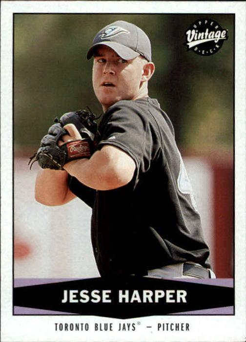 2004 Upper Deck Vintage #470 Jesse Harper RC
