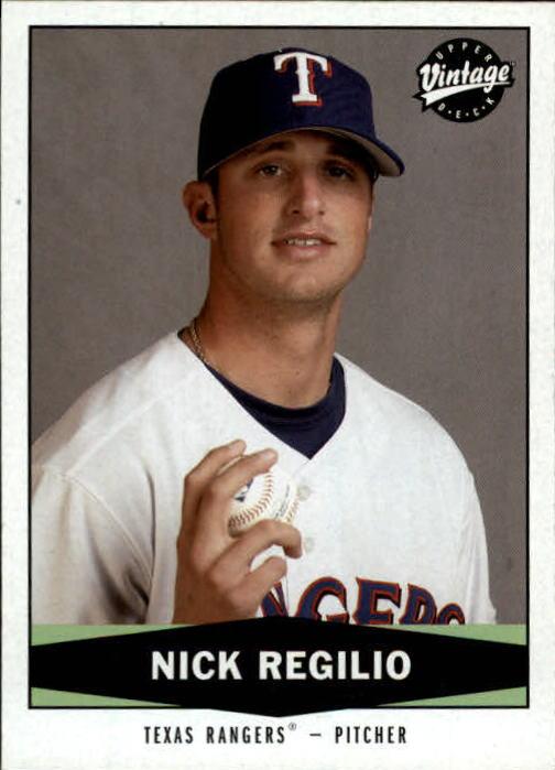 2004 Upper Deck Vintage #471 Nick Regilio RC