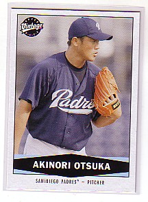2004 Upper Deck Vintage #473 Akinori Otsuka RC