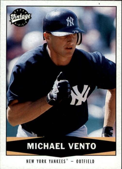 2004 Upper Deck Vintage #476 Mike Vento RC