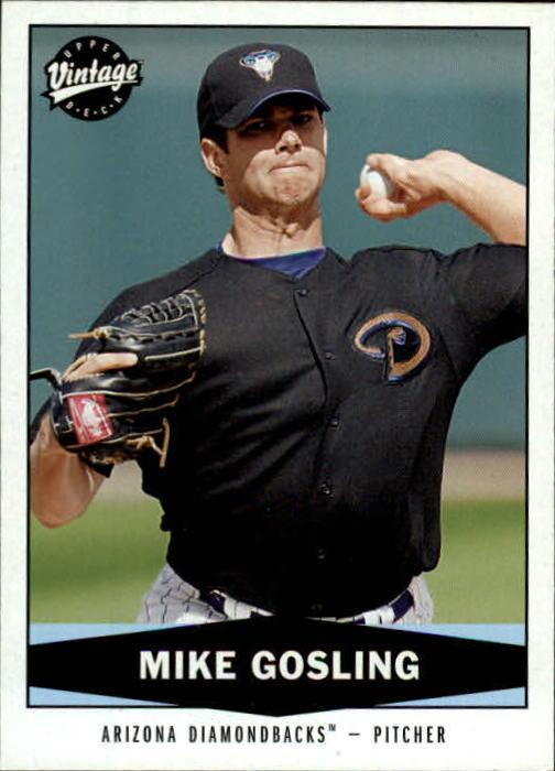 2004 Upper Deck Vintage #477 Mike Gosling RC