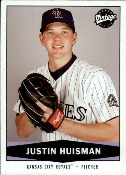 2004 Upper Deck Vintage #478 Justin Huisman RC