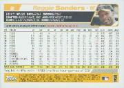 2004 Topps #2 Reggie Sanders back image
