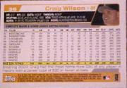 2004 Topps #36 Craig Wilson back image