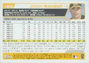 2004 Topps #153 Jason Kendall back image