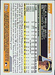 2004 Topps #223 Kris Benson back image