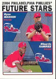 2004 Topps #328 R.Madson/E.Ramirez FS