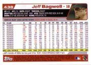 2004 Topps #438 Jeff Bagwell back image