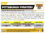 2004 Topps #660 Pittsburgh Pirates TC back image
