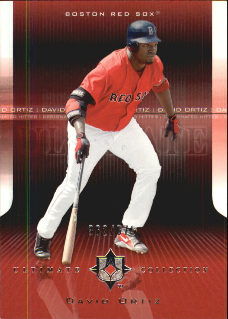 2004 Ultimate Collection #66 David Ortiz