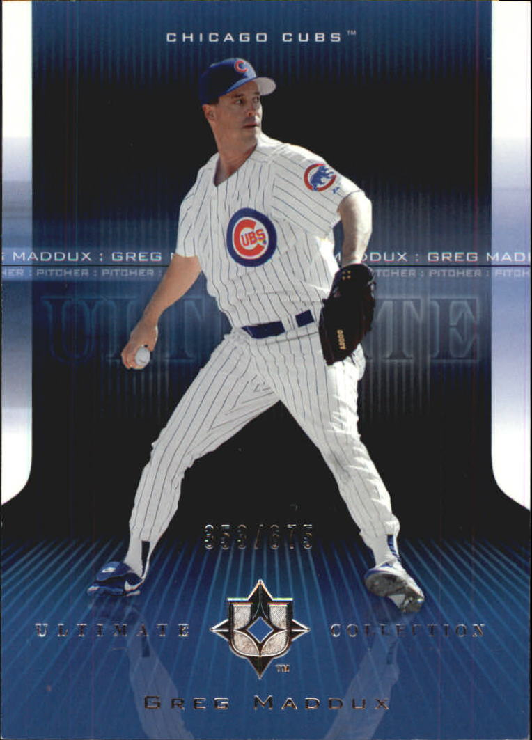 2004 Ultimate Collection #73 Greg Maddux