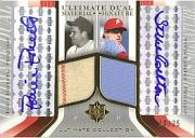 2004 Ultimate Collection Dual Materials Signature #RS Robin Roberts Jsy/Steve Carlton Pants EXCH