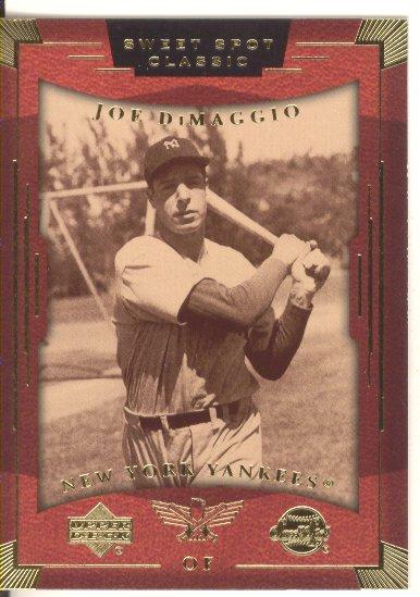 2004 Sweet Spot Classic #43 Joe DiMaggio