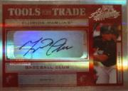 2004 Absolute Memorabilia Tools of the Trade Signature Red Spectrum #TT94 Miguel Cabrera/50