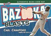 2004 Bazooka Blasts Bat Relics #CC Carl Crawford A