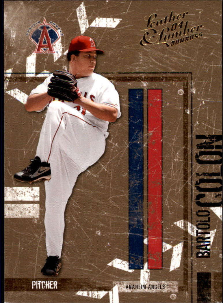 2004 Leather and Lumber #1 Bartolo Colon