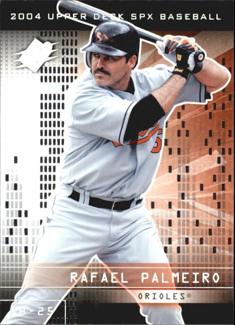 2004 SPx #68 Rafael Palmeiro