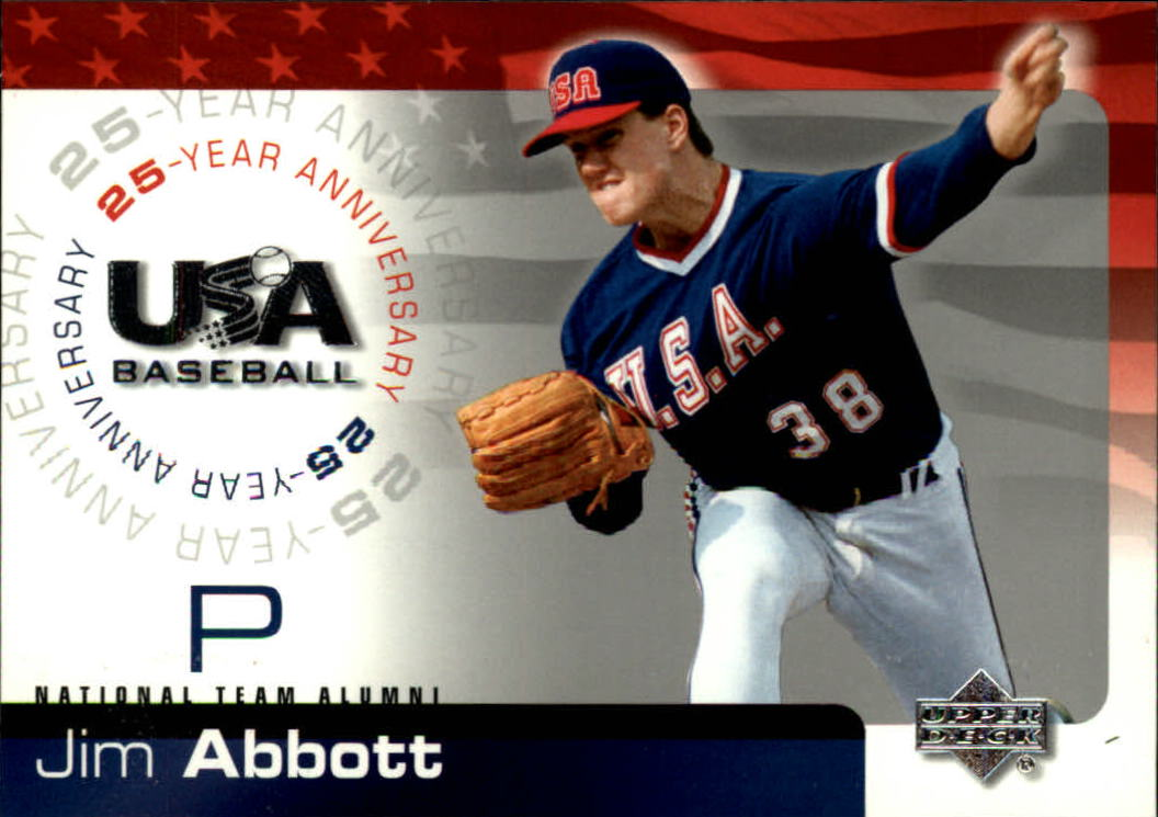 2004 USA Baseball 25th Anniversary #1 Jim Abbott