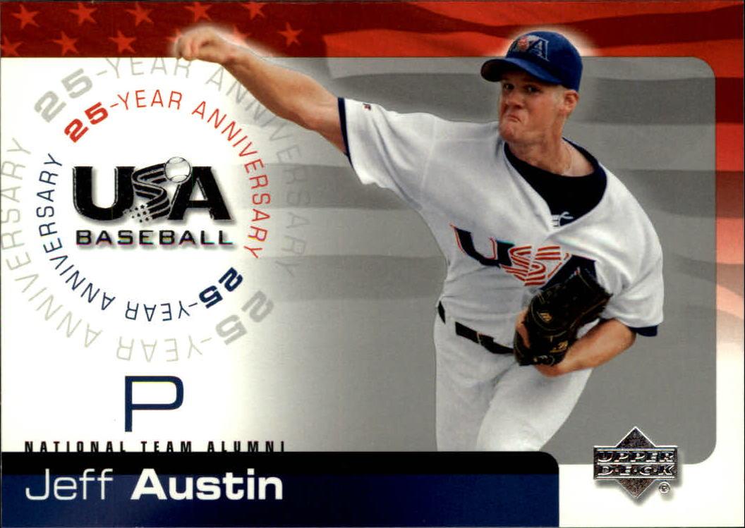 2004 USA Baseball 25th Anniversary #6 Jeff Austin