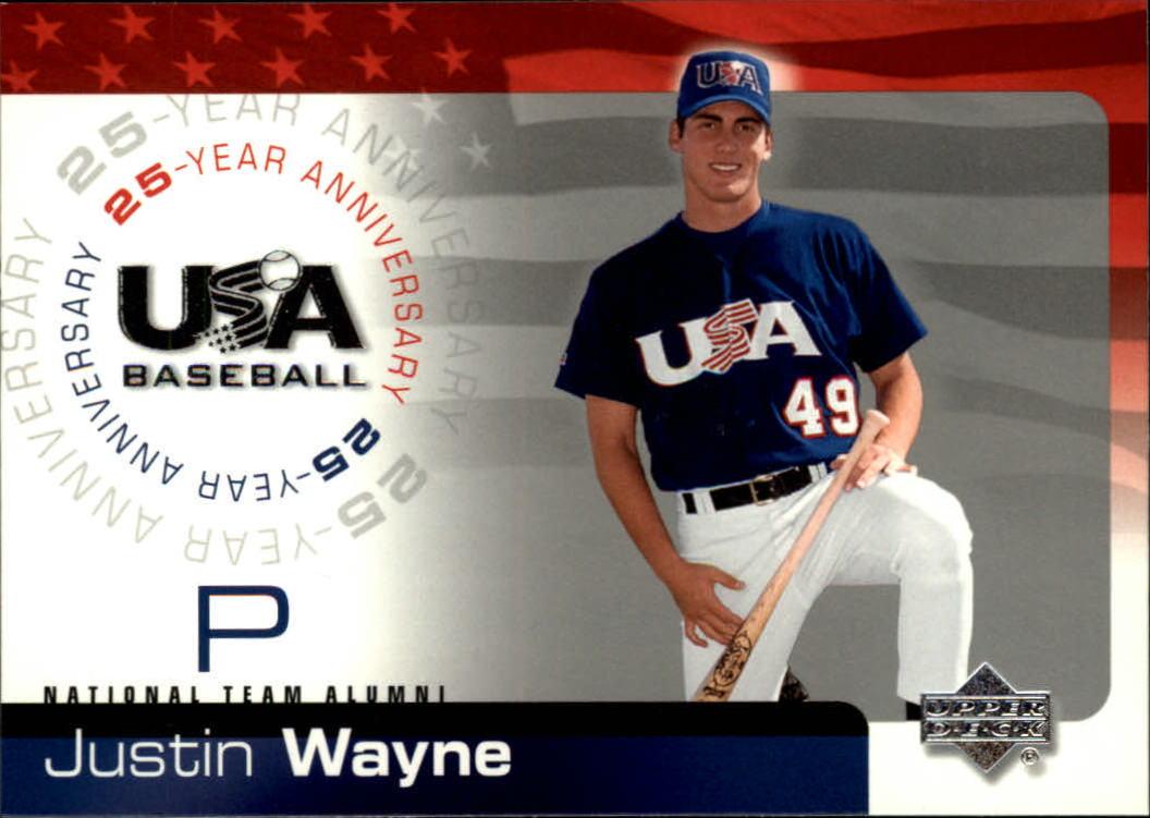 2004 USA Baseball 25th Anniversary #7 Justin Wayne
