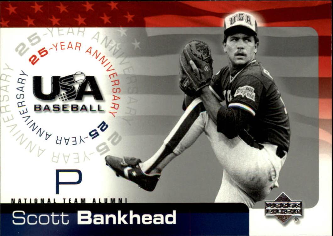 2004 USA Baseball 25th Anniversary #8 Scott Bankhead