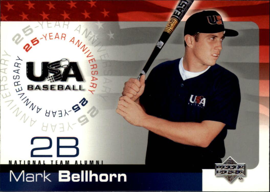 2004 USA Baseball 25th Anniversary #11 Mark Bellhorn