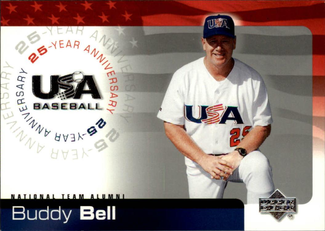 2004 USA Baseball 25th Anniversary #12 Buddy Bell