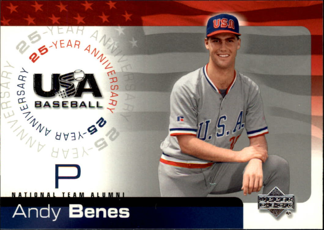 2004 USA Baseball 25th Anniversary #13 Andy Benes