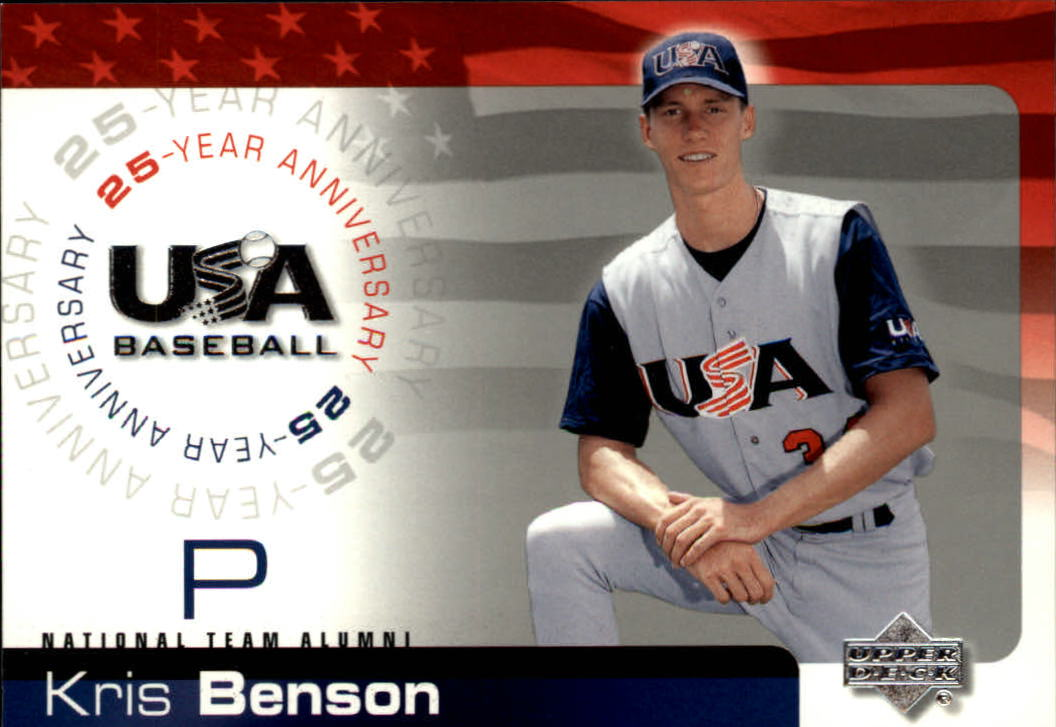 2004 USA Baseball 25th Anniversary #14 Kris Benson